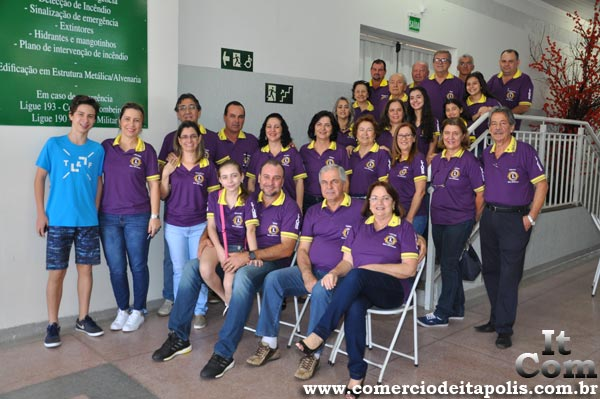 ALMOÇO DO LIONS CLUBE