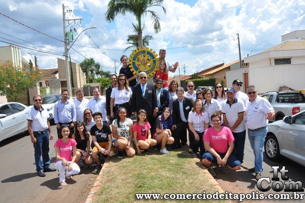 VISITA DO GOVERNADOR DO DISTRITO 4.480