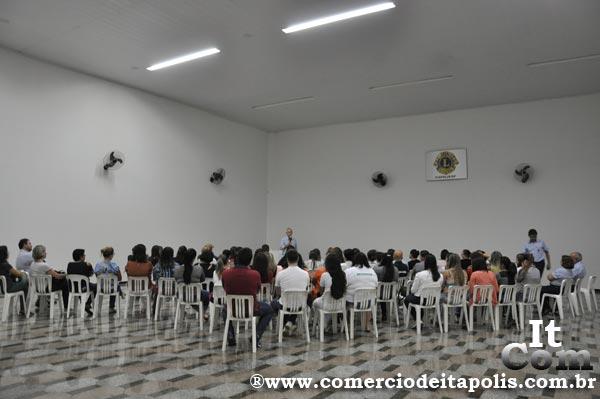 PALESTRA IDST E PREVENÇÃO DO CÂNCER DO COLO DO ÚTERO