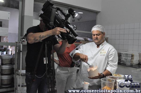REPORTAGEM DA TV TEM SOBRE O SORVETE DE ITÁPOLIS
